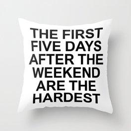 FACTS 001 Throw Pillow