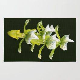Green Orchid Rug
