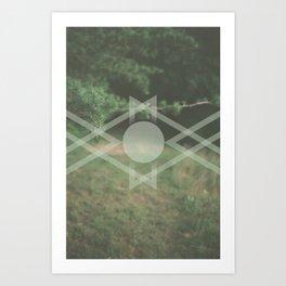 Oxygen (pt. 1) Art Print