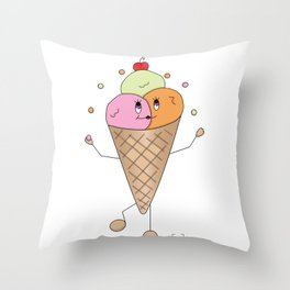Cony Throw Pillow