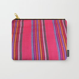 Mexican Fabric Carry-All Pouch