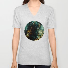 Abstract XIII Unisex V-Neck