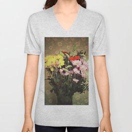 Flowers for her Unisex V-Neck