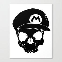 Mario fan til I die Canvas Print