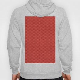 Red Orange Scales Pattern Hoody