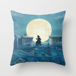 Rooftoppers Throw Pillow
