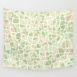 Pastel Triangles 2 Wall Tapestry