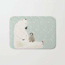 penguin and bear Bath Mat