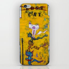 Lost Cat iPhone Skin