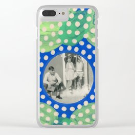 Hands Up! Clear iPhone Case