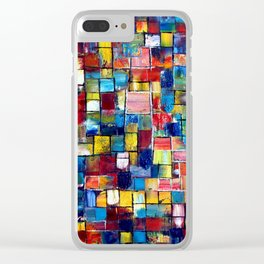 """""""Push My Buttons"""" Clear iPhone Case"""