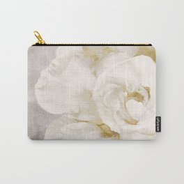 Petals Impasto Alabaster Carry-All Pouch