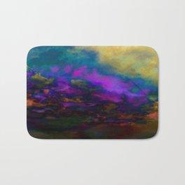 deep purple sky Bath Mat