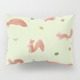 Red Squirrels Pillow Sham