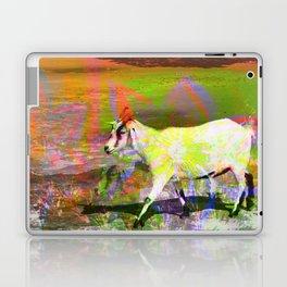 goat flower Laptop & iPad Skin