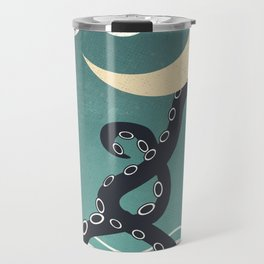 The octopus and the sea II (a lullaby) Travel Mug
