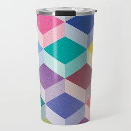 Cubism Travel Mug