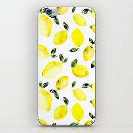 Lemons iPhone Skin