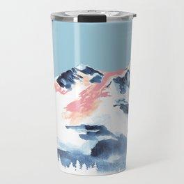Pink Mountain Travel Mug