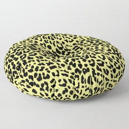Leopard Limelight Floor Pillow