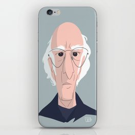 Larry David iPhone Skin