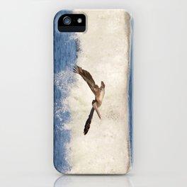 marina pelican iPhone Case