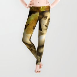 The Blessed Temperance, Gold Leggings