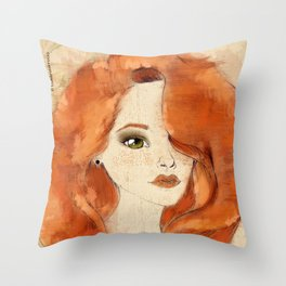 Taking Root Throw Pillow