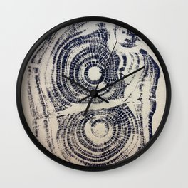 Castanea sativa: Sweet Chestnut Wall Clock