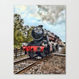 48624 Stanier - colour Canvas Print