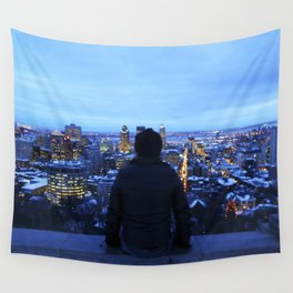 The guy at Mont Royal - Montreal, Canada Wall Tapestry