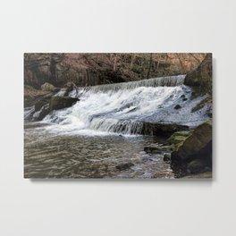 River Spodden falls Metal Print