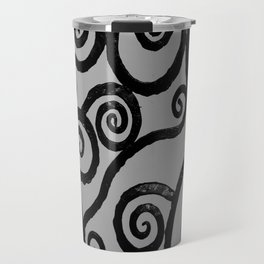 Spirals - pieces of Dublin Travel Mug
