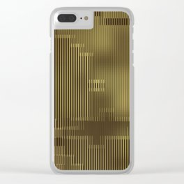 Maria's 24 Carat Abstract Clear iPhone Case