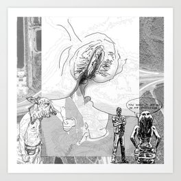 The constellation erotique 4494 Art Print