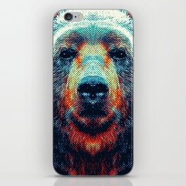 Bear - Colorful Animals iPhone Skin