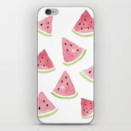 Watermelon chunks iPhone Skin