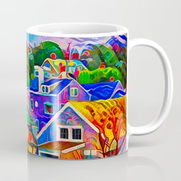 Nantucket in Gingerbread Style Coffee Mug