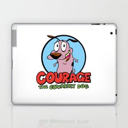 Courage the Cowardly Dog Laptop & iPad Skin