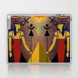 Hathor under the eyes of Ra -Egyptian Gods and Goddesses Laptop & iPad Skin
