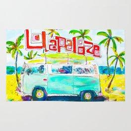 Lollapalooza Beach Rug