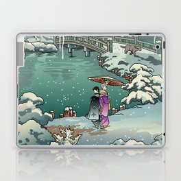 Ukiyo-e: Yuri on Ice Laptop & iPad Skin