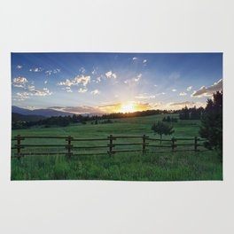 Foothills Sunset Rug