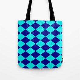 Diamond Blocks Tote Bag