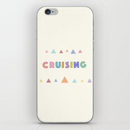 Cruising iPhone Skin