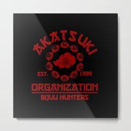 Akatsuki Organisation Metal Print