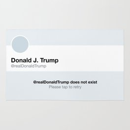 World Peace: Donald Trump Does Not Exist Rug