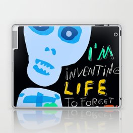 Street Art Graffiti Inventing Life Laptop & iPad Skin