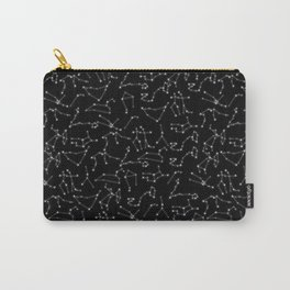 Zodiac Signs Constellations Glowing Stars | Space | Astrology | Cosmos Carry-All Pouch