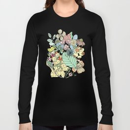 Muted In Bloom Long Sleeve T-shirt